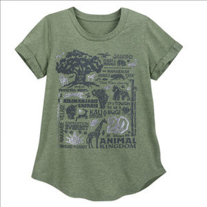Disney's Animal Kingdom 20th Anniversary Shirt